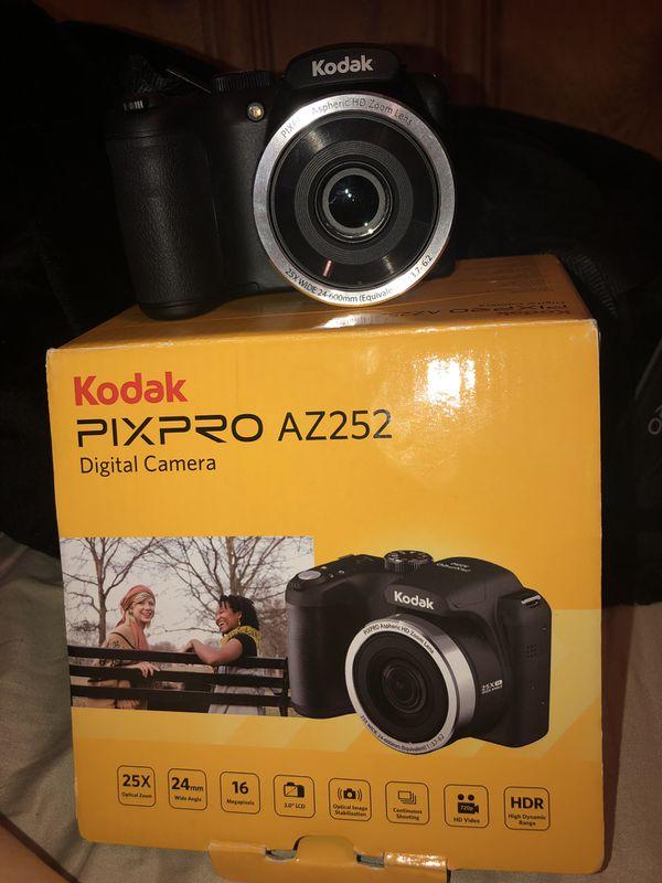 Kodak pixpro and canon powershot camera
