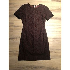 Burgundy and black lace fall/winter dress for Sale in Seattle, WA