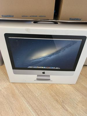 iMac late 2013 slim body in the box with 8 gigs ram brand new upgraded 512 ssd drive OS X Mojave for Sale in Los Angeles, CA