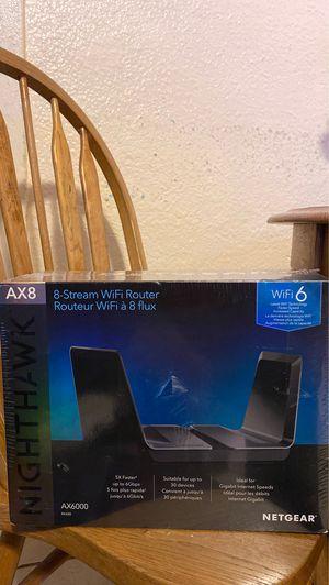 Nighthawk AX8 (ax6000) rax80 netgear for Sale in Los Angeles, CA
