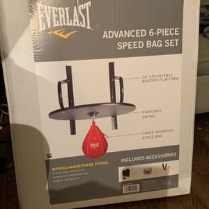 6 Piece Speed Bag Set for Sale in Painesville, OH
