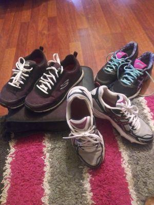 Skechers slip resistant,& Asics 8 & 8.5 for Sale in Unionville, MO