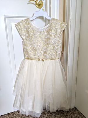 Jona Michelle Toddler Dress - Beige - Size 8T for Sale in Auburn, WA