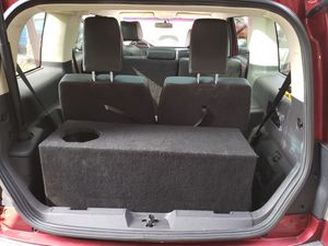 "Custom 15"" Subwoofer box for Ford Flex for Sale in San Diego, CA"