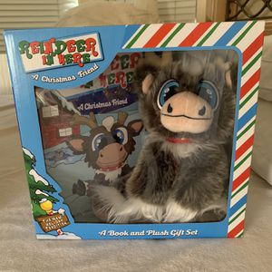 Reindeer In Here Plush Toy W/ Book for Sale in Avondale, AZ