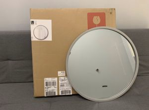 Mirror - Umbra® Hub 24-Inch Round Wall Mirror in Grey for Sale in Rockville, MD