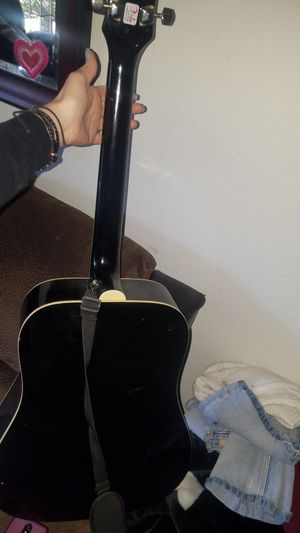Black Acoustic Guitar for Sale in Westminster, CA