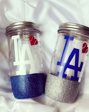 Mason jar tumblers💙 for Sale in Upland, CA