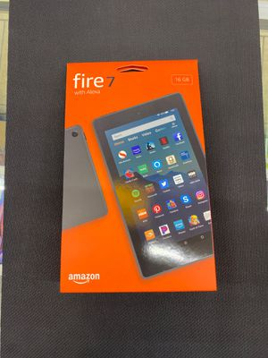 Amazon Fire 7 tablet new for Sale in Houston, TX