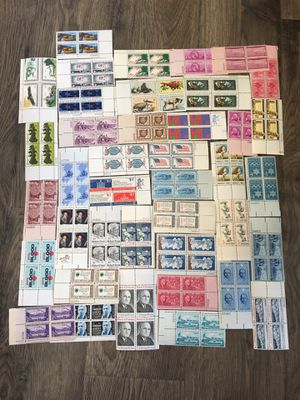 Large lot of unused vintage stamps 3 for Sale in Branford, CT