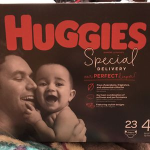 Huggies Special Delivery Diapers Size 4 for Sale in Manassas, VA