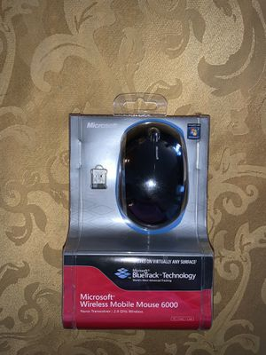 Microsoft Wireless Mobile Mouse 6000 for Sale in Bedford, NH