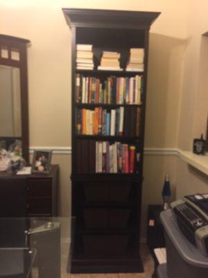 Set of 2 Bombay Company decorative wood bookshelves for Sale in Orlando, FL