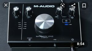 M-AUDIO M -Track interface 2x2 for Sale in Cherry Hill, NJ