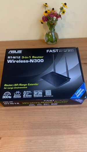 Asus wireless- N4300 Router for Sale in Willowbrook, IL