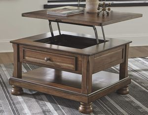 Ashley - Flynnter Lift Top Cocktail Table, Medium Brown for Sale in Broadview Heights, OH
