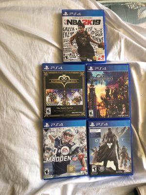 PS4 Game Bundle for Sale in San Diego, CA