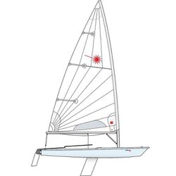 1979 Laser Sailboat, Complete for Sale in Long Beach,  CA