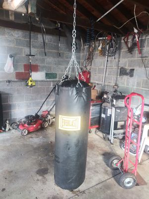 EVERLAST Punching bag for Sale in Inkster, MI