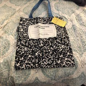 Composition Notebook Style Book Bag for Sale in Palm Beach, FL
