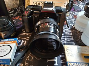 Minolta maxxum 5000 camera and Polaroid Land Camera from my collection for Sale in West Deptford, NJ