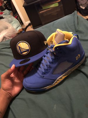 Jordan 5 laney sz 12 new condition for Sale in Tampa, FL