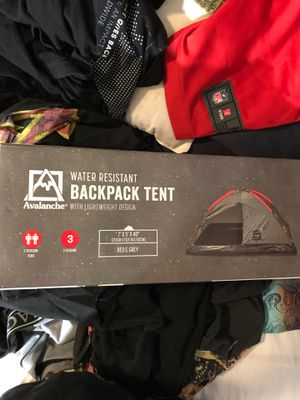 Backpack Tent for Sale in Washington, DC