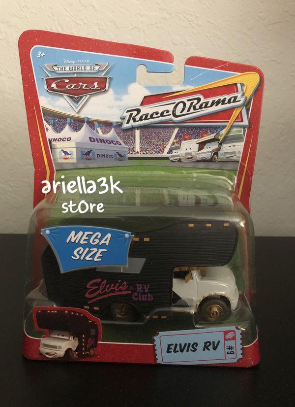 Disney PIXAR Cars ELVIS RV diecast MEGA SIZE RaceORama motorhome