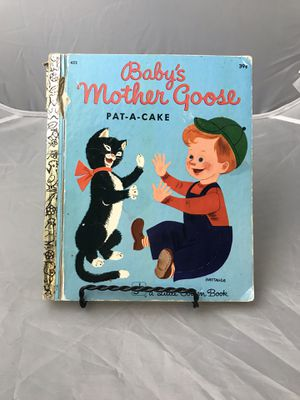 A Little Golden Book Baby's Mother Goose-Pat-A-Cake 1972 Vintage! for Sale in Evanston, IL
