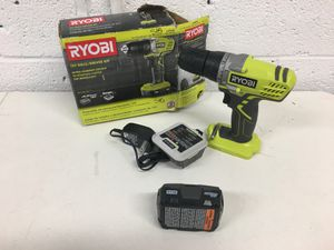 Ryobi 12 Volt Drill Driver Kit Battery Charger included for Sale in Mesa, AZ