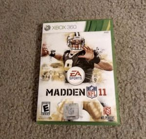 Xbox 360 Madden NFL11 Video Game for Sale in Wildomar, CA