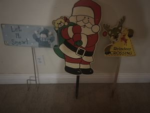 Christmas yard signs for Sale in Henderson, NV