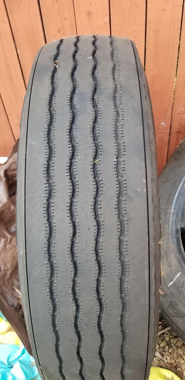 "2 of BFGoodrich ST244 24.5"" tires"