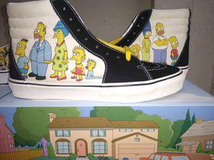 Vans X Simpsons Sz 9 for Sale in Austin, TX