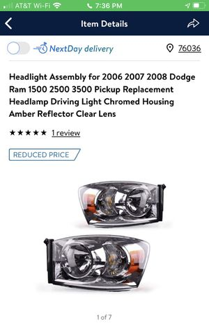 Parts for Dodge Ram for Sale in Crowley, TX