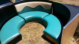 Retro style booth and table for Sale in Clovis, CA