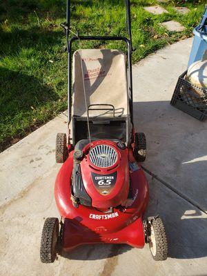 Craftsman 6.5 lawnmower for Sale in Modesto, CA