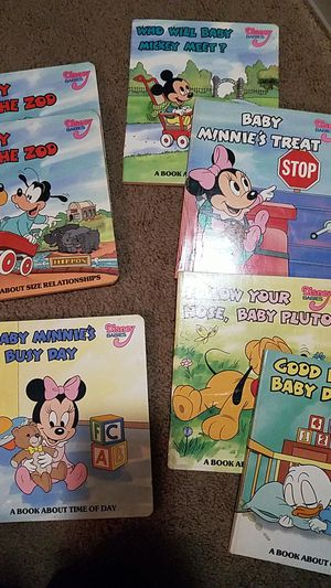 Disneys babys first books 1987,1988 for Sale in Lathrop, MO