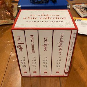 The twilight Saga white collection for Sale in Yorba Linda, CA