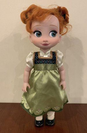 """Disney Frozen Anna Doll In Coronation Dress 16""""! for Sale in Lemont, IL"""