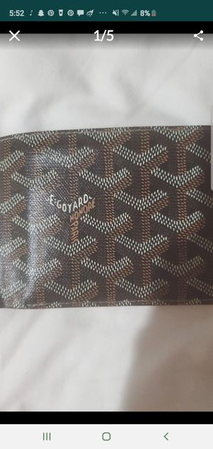 Maison Goyard Wallet made in France real leather for Sale in Torrance, CA