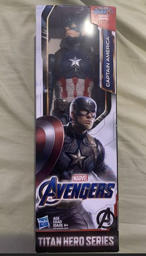 "Captain America 12"" Marvel Toy Action Figure Avengers Endgame Titan Hero Series for Sale in Wilmington, NC"