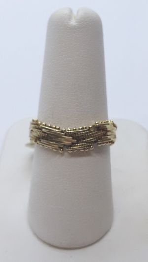 14k yellow gold flexible ring 4.1 grams size 8 for Sale in Fort Pierce, FL