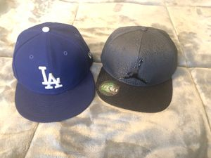 Youth hats LA Dodgers and Air Jordan for Sale in Riverside, CA
