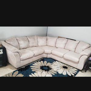 Microfiber Sectional Sofa for Sale in Alexandria, VA