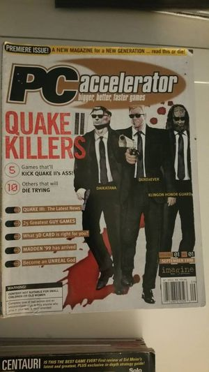 PC Accelerator collectible PC game magazines for Sale in San Diego, CA