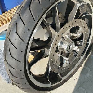 Harley Davidson Roadglide Front Rim,tire And Rotor for Sale in Fresno, CA