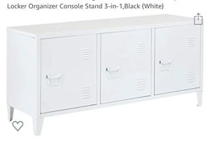 Locker Style Storage or Entertainment Stand for Sale in Bakersfield, CA