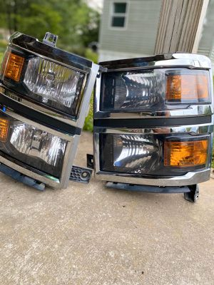 Chevy Silverado Headlights OEM For sale for Sale in Gonzales, LA