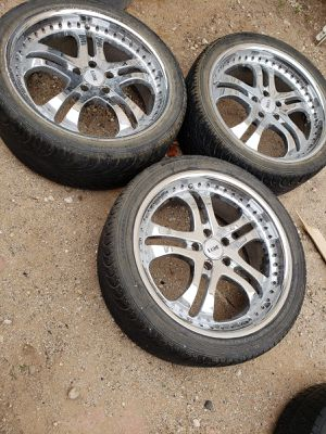 LUXE.RIMS&TIRES.3/$100 for Sale in Las Vegas, NV
